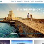 Screenshot of the World Ventures Homepage