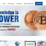 Screenshot of the iCoinPro Homepage