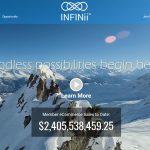 INFINii Homepage Screenshot