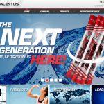 Valentus Homepage Screenshot