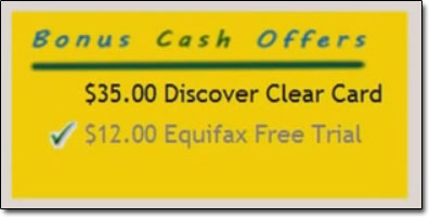 Cashback Research Bonus Offers