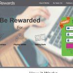 Daily Rewards Homepage Screenshot