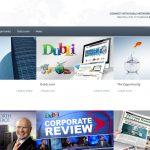 Screenshot of the Dubli Network Homepage
