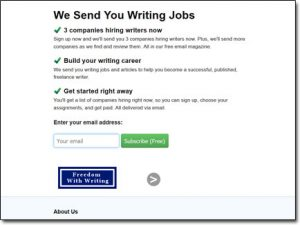 Freedom With Writing Homepage