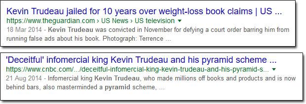Kevin Trudeau Reviews
