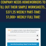 Worksheet Processing Jobs