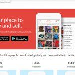 Mercari App Homepage