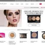Motive Cosmetics Homepage Screenshot