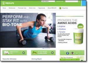 NeoLife Homepage