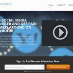 Paid Social Media Jobs Homepage