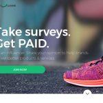 Survey Junkie Homepage Screenshot