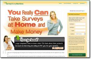 Survey Money Machines Homepage