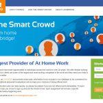 The Smart Crowd (Lionbridge) Homepage Screenshot