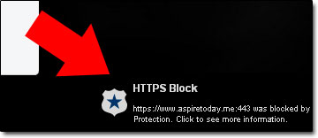 Web Protection Block