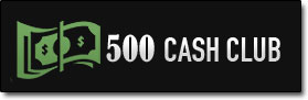$500 Cash Club System Logo