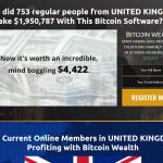 Bitcoin Wealth Homepage Screenshot
