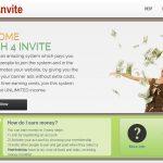 Cash 4 Invite Homepage