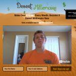 Desert Millionaire Homepage Screenshot