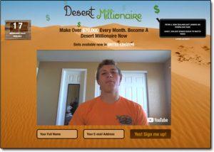 Desert Millionaire Homepage
