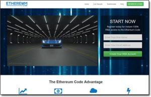 Ethereum Code Homepage