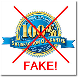 Fake Money Back Guarantee