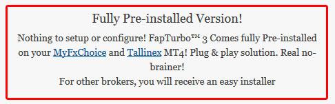 Fap Turbo Preconfigured