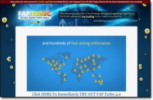 Fap Turbo Homepage Screenshot