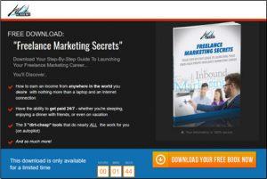 Freelance Marketing Secrets Homepage