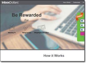 Inbox Dollars Homepage