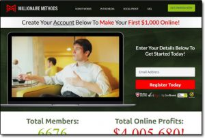 Millionaire Methods System Homepage