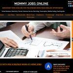 Mommy Jobs Online Website Screenshot