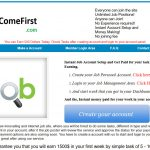 Money Come First Homepage