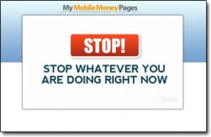 My Mobile Money Pages Homepage