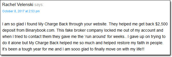 MyChargeBack.com User Review