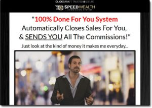 The Speed Wealth System Homepage