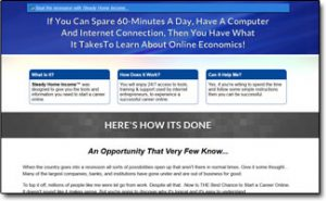 Steady Home Income Homepage