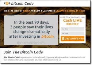 The Bitcoin Code Homepage