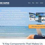 The Super Affiliate Network Website Screenshot