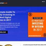 Bitcoin Mentor Club Website Screenshot