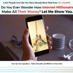 Internet Millionaire Coach Website Screenshot