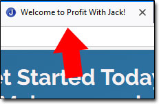 Tiny Website System is a copy of Profit With Jack