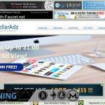 1DollarAdz.com Website Screenshot