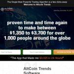 Altcoin Trends Website
