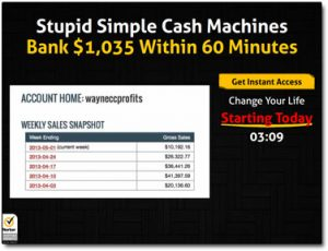 Click Cash System Website