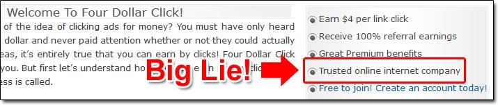 Four Dollar Click Scam