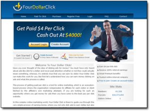 Four Dollar Click Homepage