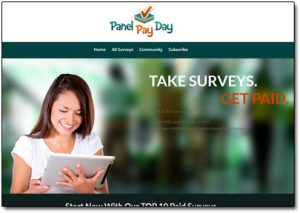 Panel Pay Day Website