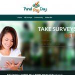 Panel Pay Day Website Screenshot