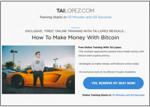 Tai Lopez Bitcoin Crypto Academy Website Thumb