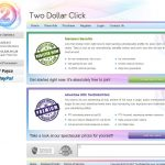 Two Dollar Click Website Screenshot